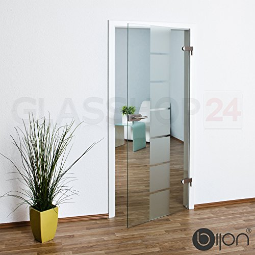bijon® Glastür T1 | Studio/Studio | 709x1972mm | DIN Rechts