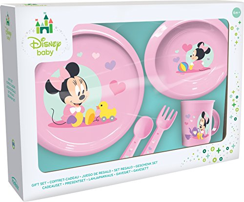 Ciao 33541 – Set Teller Minnie Baby, pink