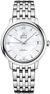 Omega DeVille Prestige Mother of Pearl Dial Stainless Steel Automatic Ladies Watch 42410332005001