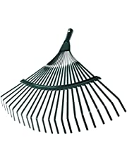 Hoogwaardige bladbezem, waaierbezem, bladbreken, bladeren, hark, tuinhark, draadbezem voor het reinigen van de tuin