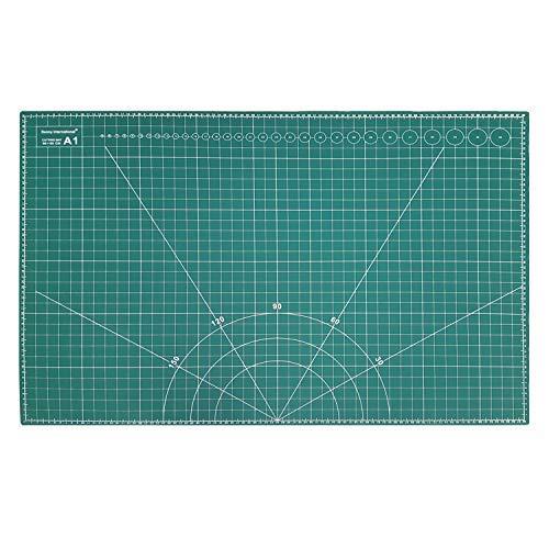 A1 (900X600MM) Cutting Mat Non Slip Self Healing Printed Grid Art & Craft...