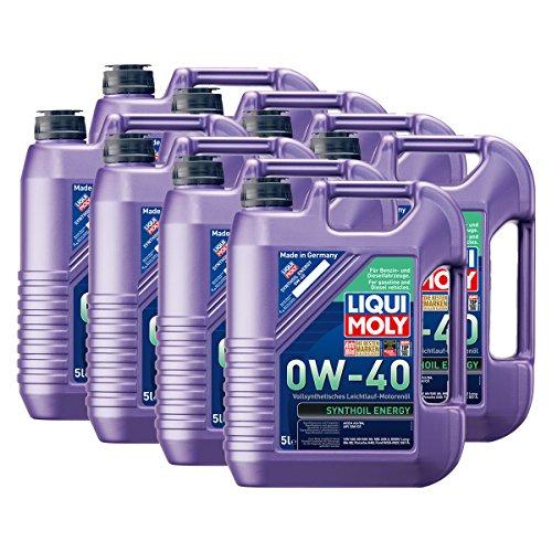 8x LIQUI MOLY 1361 Synthoil Energy 0W-40 Motoröl Vollsynthetisch 5L