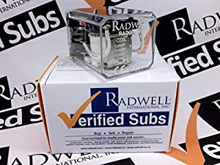 RADWELL VERIFIED SUBSTITUTE HP3212VDCSUB Relay - 12VDC, 13A 2PDT Plug in Relay- Replaces AROMAT PN: HP3212VDC