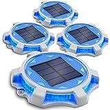 Siedinlar Solar Deck Lights Outdoor 2 Modes...