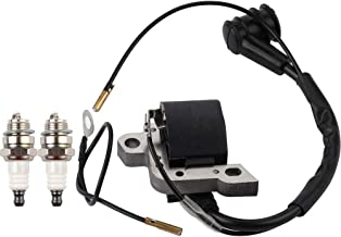 Dalom MS290 Ignition Coil Module w Spark Plug for Stihl 024 026 028 029 034 036 038 039 044 044MAG MS390 MS440 Chainsaw Replaces 0000-400-1300