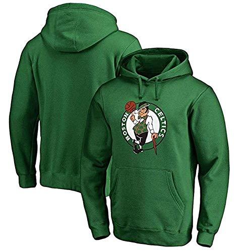 HHUPII Sudadera Con Capucha De Los Hombres De Los Celtics De Boston, Camiseta Deportiva De La NBA Suelta (Color : Green, Size : 3XL)
