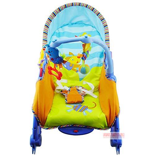 C-Qing Baby Bouncer Baby Rocker Toy,Electric Rocking Chair Newborn Baby Bouncer Swing Chair Toddler Rocker,Best Friend