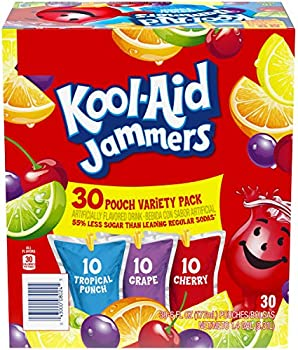 30-Pack Kool-Aid Jammers Variety 6 Oz Pouches