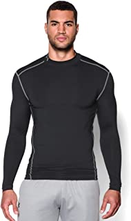 Men ColdGear Compression Mock Long Sleeve T-Shirt