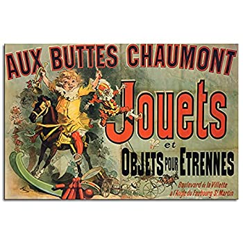 JOUETS - AS SEEN ON FRIEND POSTER - ART PRINT TV SHOW Canvas Prints Poster Wall Art For Home Office Decorations Unframed 12 x8