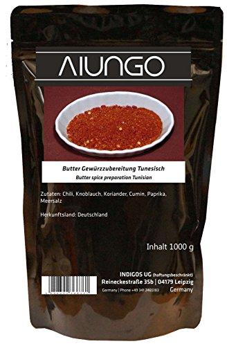 Viungo® Goldline - Butter Gewürzzubereitung Tunesisch - 1000g