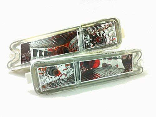 K1AutoParts Crystal Front Bumper Indicator Light Lamp For Mitsubishi L200 Strada Animal 1995-2004