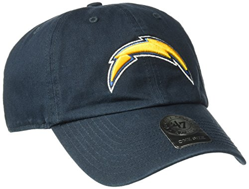 NFL San Diego Chargers '47 Clean Up Adjustable Hat, Navy, One Size