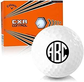 Callaway Golf CXR Control Monogram Personalized Golf Balls