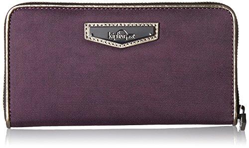 Kipling Damen NIMMI Geldbörse, Violett (Deep Velvet), 18.5x10x2 cm