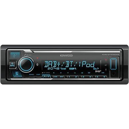Kenwood Kmm Bt505dab Usb Autoradio Mit Dab Und Bluetooth Freisprecheinrichtung Soundprozessor Mp3 Spotify Control 4x50 Watt Farben Einstellbar Navigation