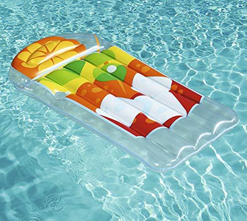 CGMZN Anello di Nuoto Piscina Gonfiabile Gigante Gonfiabile di galleggiamento della Piscina di galleggiamento della Bacca di galleggiamento Gonfiabile della Bevanda Sportiva di 1.9M