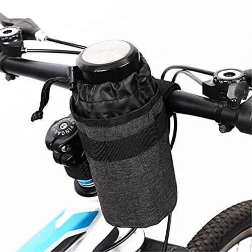 CYC Manillar de Bicicleta Portavasos Bolsa Volante Vástago de Bicicleta Botella de Agua aislada Bolsa de Transporte Bolsa de Bicicleta Accesorios de Bicicleta,Azul