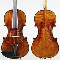 バイオリンセット 手作りバイオリン、30年間自然に乾燥された、純粋なスプルースプロのバイオリン4/4セット