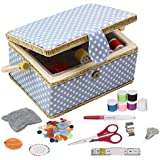 80 Pieces Threaded Needle Travel Sewing Kit...