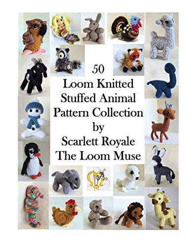 Compare Textbook Prices for 50 Loom Knitted Stuffed Animal Pattern Collection  ISBN 9781537381459 by Royale, Scarlett