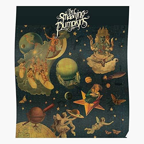 Sconosciuto Mellon Collie Infinite Sadness The Smashing And Pumpkins Home Decor Wall Art Print Poster !