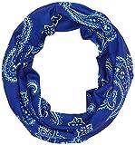 Black Crevice – Pañuelo multifunción, Todo el año, Unisex, Color Azul, tamaño Talla única