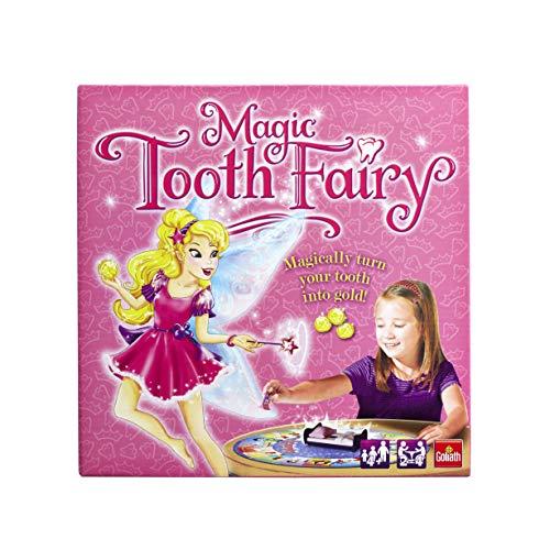 Goliath Games GL60052 Magic Tooth Fairy, lustiges Brettspiel für Kinder ab 5 Jahren, Mehrfarbig