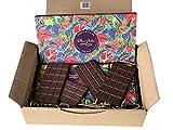 WIKICHOCO Pack de experiencia de chocolate ChocolateAndLove - tabletas de chocolate para regalo - origen vegano - comercio justo - para hasta 6 personas