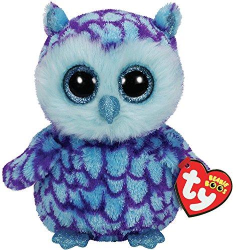 TY 36148 Oscar Owl Plüsch, blau/lila