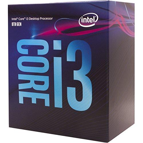 Intel BX80684I38300 65W Core i3-8300 Processor 4 Core 3.7 GHz Socket H4 LGA-1151 Retail Pack