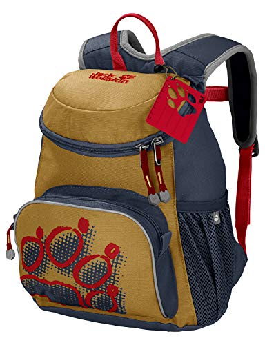 Jack Wolfskin Kinder LITTLE JOE bequemer Kinderrucksack, golden Amber, ONE SIZE