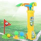 Juego de palos de golf para niños pequeños Golf Club Set de Educación Infantil, de interior y deportes al aire libre Juguetes for niños y niñas para juguetes de educación temprana para niños en
