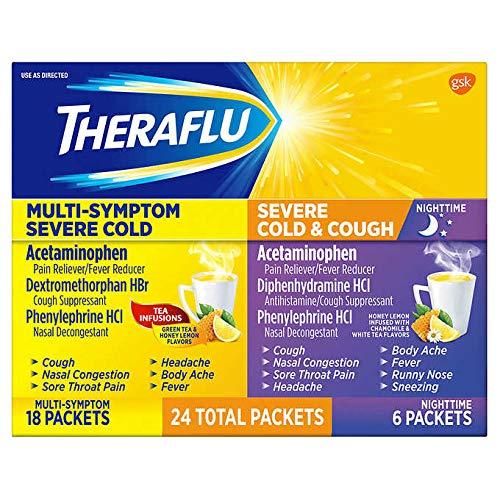 Theraflu Multi-Symptom and Nighttime