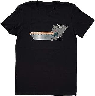 eiyeckn Supernatural Dean Winchester Squirrel Pie Geek T-Shirt
