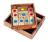 Logica Jeux Art. Fuite de la Prison - Khun Phaen - Klotski - L'Âne Rouge - Casse-têtes en Bois Précieux - 16 Jeux en 1 - Difficultés Mixtes