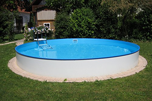 Planet Pool Rundbecken Exklusiv Ø 350x120 cm (SW:0,6 IH:0,6)