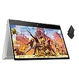 "2021 Newest HP Envy x360 2-in-1 Laptop, 15.6"" FHD Touchscreen, Intel Core i7-10750U Processor, 32GB RAM, 512GB SSD, Fingerprint Reader, Backlit Keyboard, USB 3.1, HDMI, Webcam, Win 10 + Oydisen Cloth"