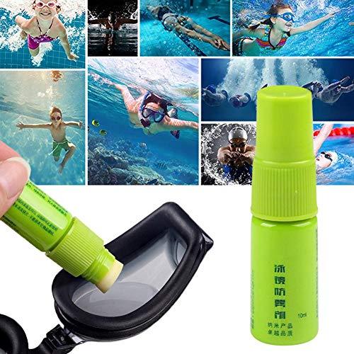 AUTOECHO Antibeschlag-Spray für Brille, Tauchmaske, Schwimmbrille, Skibrille, Paintball-Masken, Helm alle Glas- und Kunststoffgläser