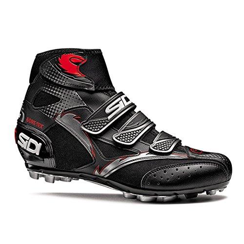 Sidi Diablo GTX Winter Mountain Shoe, 44, Black/Black