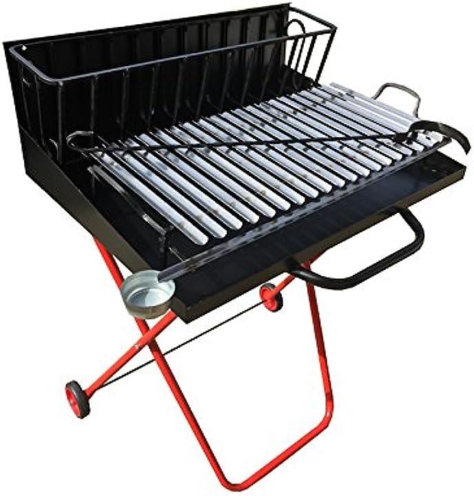 Barbecue a legna alla veneta cm 50 casamaniashopping B06VSKBKG7