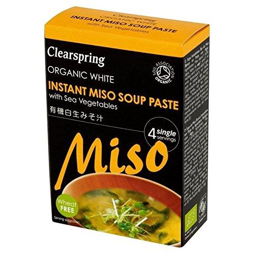 Miso Blanc Bio Pâte De Soupe Instantanée 4 X 15G - Paquet de 6