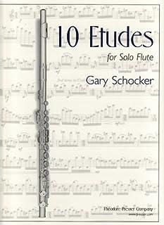 10 Etudes For Solo Flute - Flute Solo