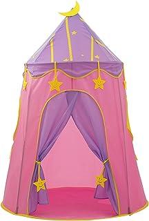 YSJJWDV Teepee tält stort barn tält bärbar flicka leker hus Wigwam barn säng vila tält Tipi barn liten Tipi prinsessa slot...