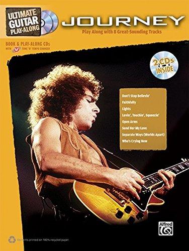 Ultimate Guitar Play-Along: Journey  |  Gitarre  |  Buch & 2 Enhanced CDs (Ultimate Play-Along)