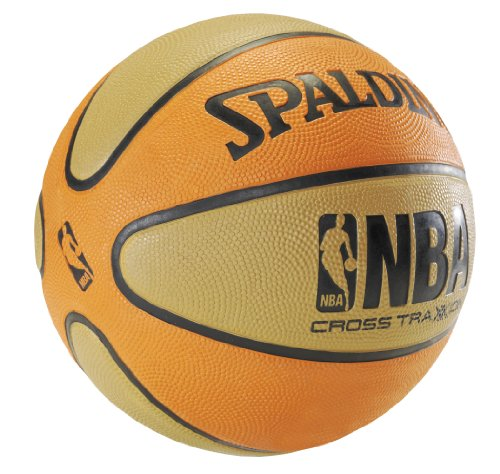 Buy Cheap Spalding NBA Cross Traxxion Outdoor Rubber Basketball - Youth Size 5 (27.5)