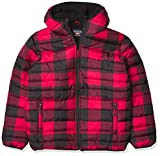 The Children's Place Boys' Buffalo Plaid Puffer Jacket, Classicred, XS (4)
