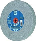 PFERD 61796 Bench Grinding Wheel, Silicon Carbide, 8' Diameter, 1' Thick, 1-1/4' Arbor Hole, 120 Grit, 3600 Maximum RPM