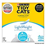 Purina Tidy Cats Light Weight, Low Dust, Clumping Cat Litter, LightWeight Glade Clear Springs Multi Cat Litter - 17 lb....