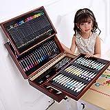 Lvbeis Disegno Matite Colorate Professionali Set Pittura Valigetta di Legno Pastello Art Pastelli A Cera En Pastelli A Olio174 Acquarellabili Colori
